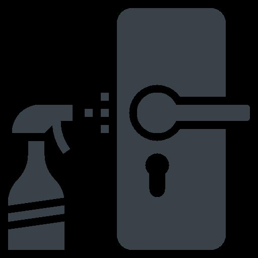 5729663 - cleaning door hygiene knob object
