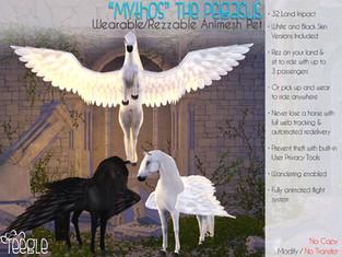 """""""Mythos"""" the Pegasus"""