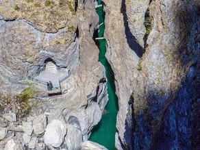 Dem Hinterrhein entlang von Splügen bis Rothenbrunnen