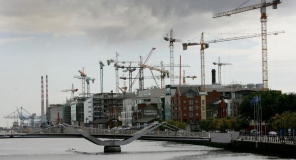 Cranes over Dublin in 2007: large scale construction activity is expected in 2016. Photograph: Bryan O'Brien