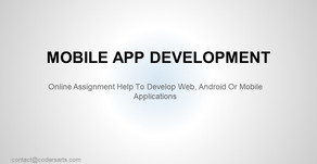 Mobile Application Development | Codersarts
