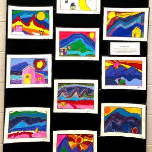 Christian Elementary School Art