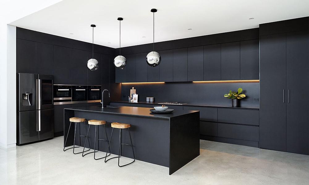Trending Black Modern Design Kitchen BLOG: Mern Interior Design