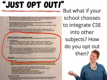 Can You Opt Out of the Sex-ed Curriculum?