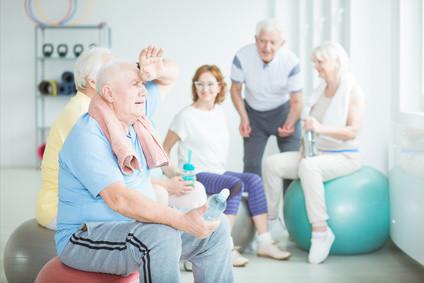 Auch ältere Leute sind herzlich willkommen!!