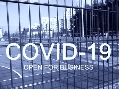 CORONAVIRUS - WE ARE OPEN FOR BUSINESS