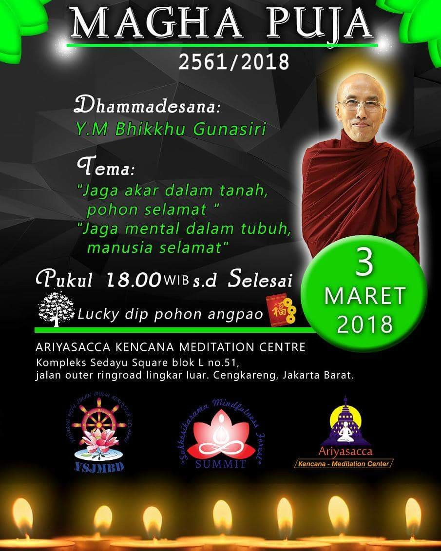 Jadwal Magha Puja 2018