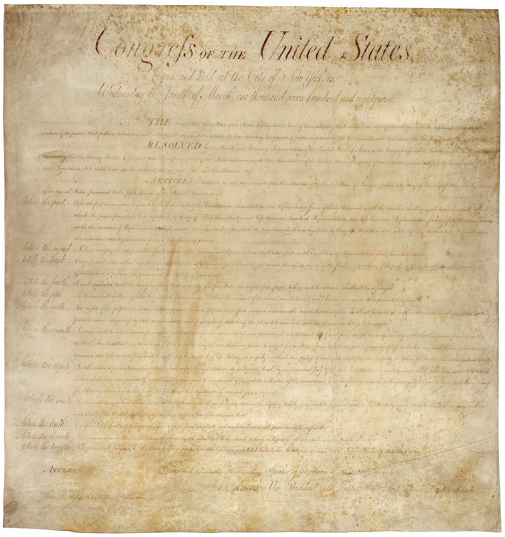 美國權利法案