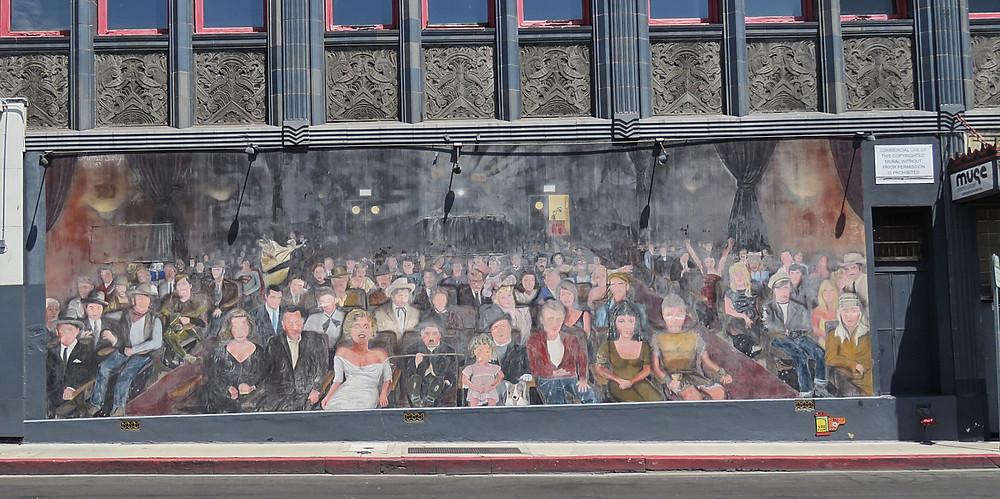 la la land mural hollywood