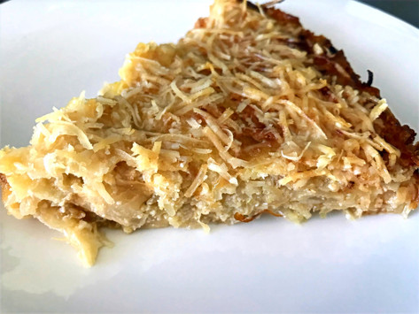 """Low-Carb Cabbage """"Quiche"""""""