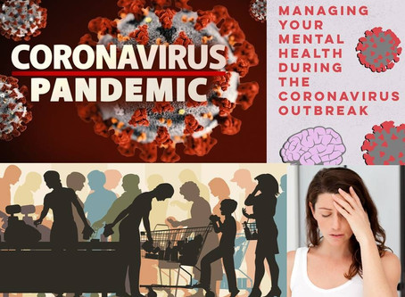 FEAR, ANXIETY, DEPRESSION-CORONA VIRUS(COVID-19)PANDEMIC STRESSING YOUR MENTAL HEALTH
