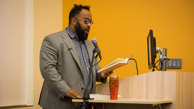 Kevin Young Visits Purchase for the First (And Not Last) Time