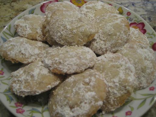Cardamom-Pecan Cookies