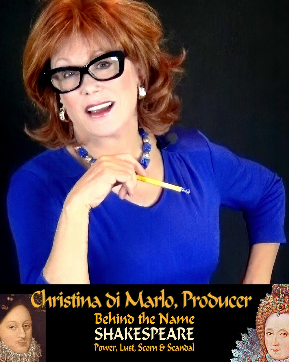 Picture of Christina di Marlo (aka Robin Phillips).