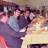 Rare-photo-of-Ed-Kemper-dining-with-peop