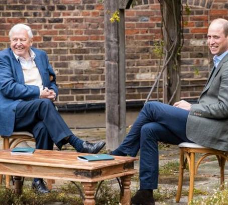 Prince William, Sir David launch 'Earthshot'.
