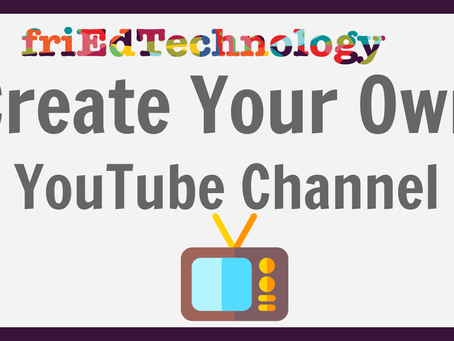 Create Your Own YouTube Channel in FIVE Minutes and Add Channel Art