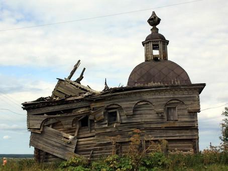 Добровольцы отреставрируют 40 деревянных храмов Поморья