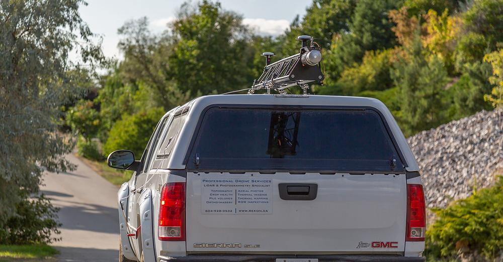 truck mounted LiDAR