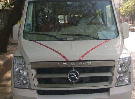 Badrinath Kedarnath 7 days yatra Tempo Ex Delhi (12 seater tempo) RS 52,500.00 GST extra.