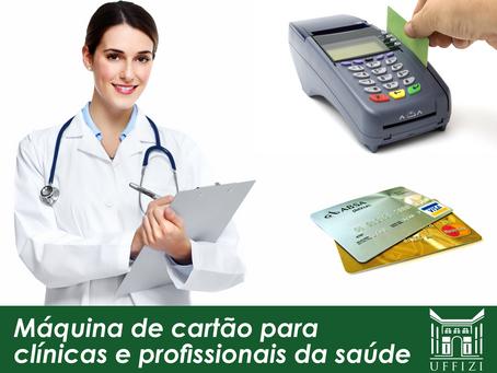 Máquina de cartão para clínicas e profissionais da saúde