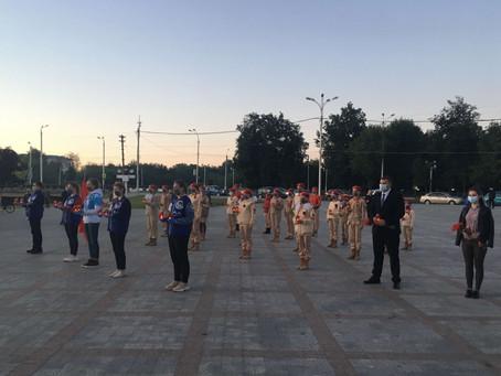 Студенты и сотрудники ТвГУ приняли участие в акции «Свеча памяти»