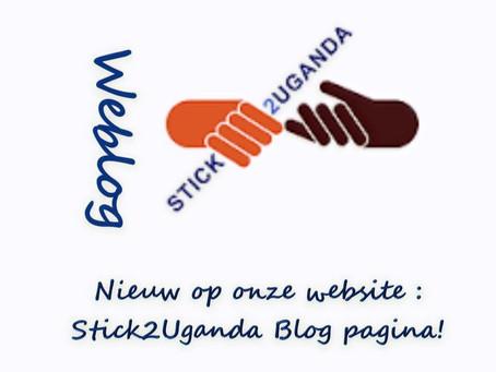 Nieuw! Blog pagina