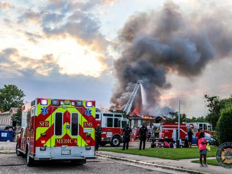 2 Alarm Fire Destroys North Shreveport Apartments