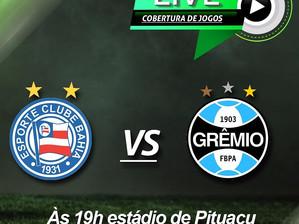 Bahia x Grêmio: Cobertura no Instagram do Mosaico Esportivo