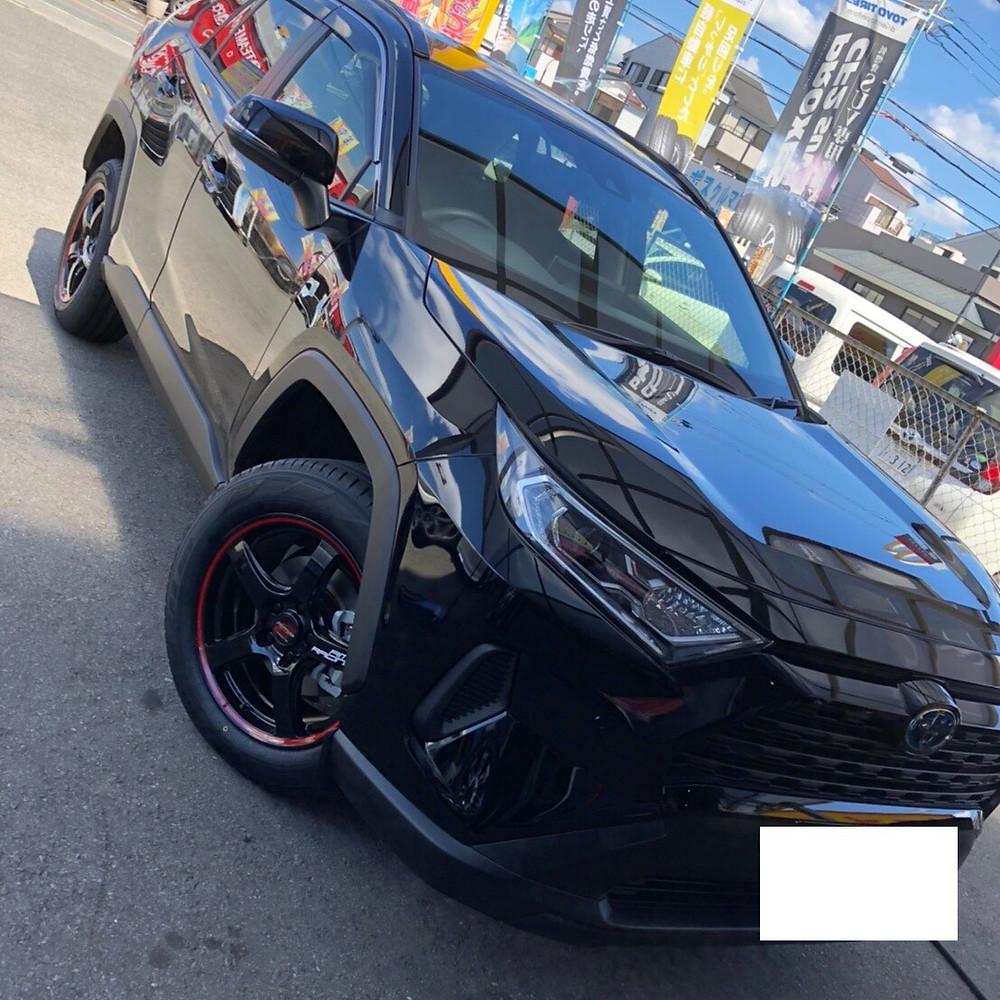 トヨタ RAV4 マルカ MID RMPRACING R50 18インチ トーヨー プロクセス CF2 SUV