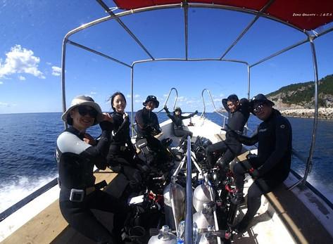 [10월 28~11월 1일] 울릉도 다이빙여행~