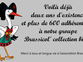 Anniversaire du groupe Brassicol' collection bière.