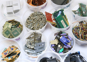 The amount of e-waste is exploding and poses an environmental problem