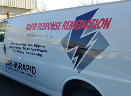 Van Number 4 for Rapid Response Remediation