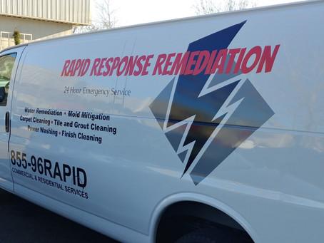 Van Number 4 for Rapid Response Remediation