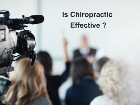 Is Chiropractic Effective ?