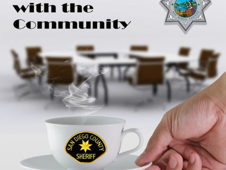 Santee Coffee With The Community