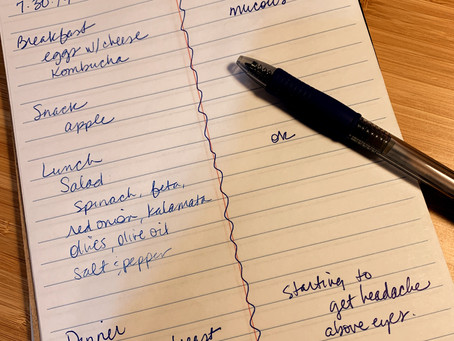 Track your Health with a Food Journal