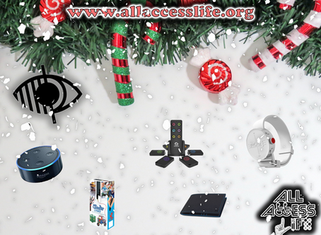 Top 5 Christmas Gift ideas for our Blind / Visually Impaired Category