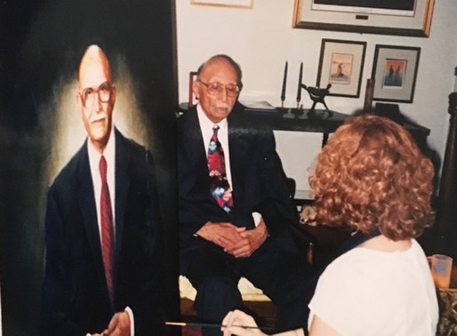 Famous Brown v Board Lawyer's Portrait to be installed May 1