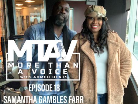 MTAV Podcast 18: Samantha Gambles Farr