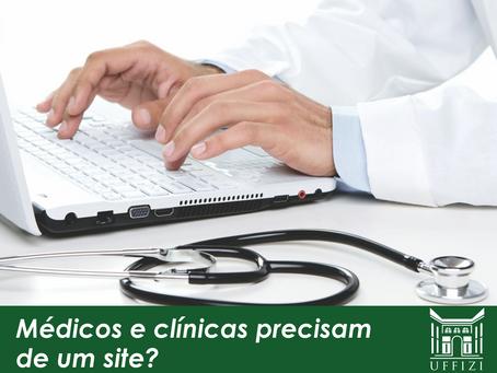 Médicos e clínicas precisam de um site?