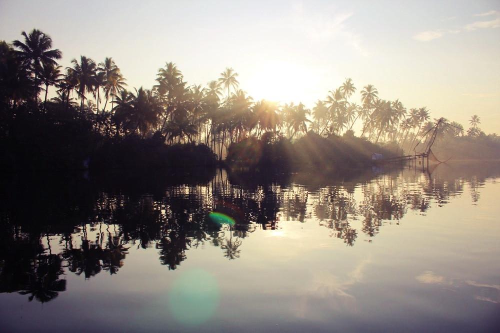 cherai beach Kerala Inde