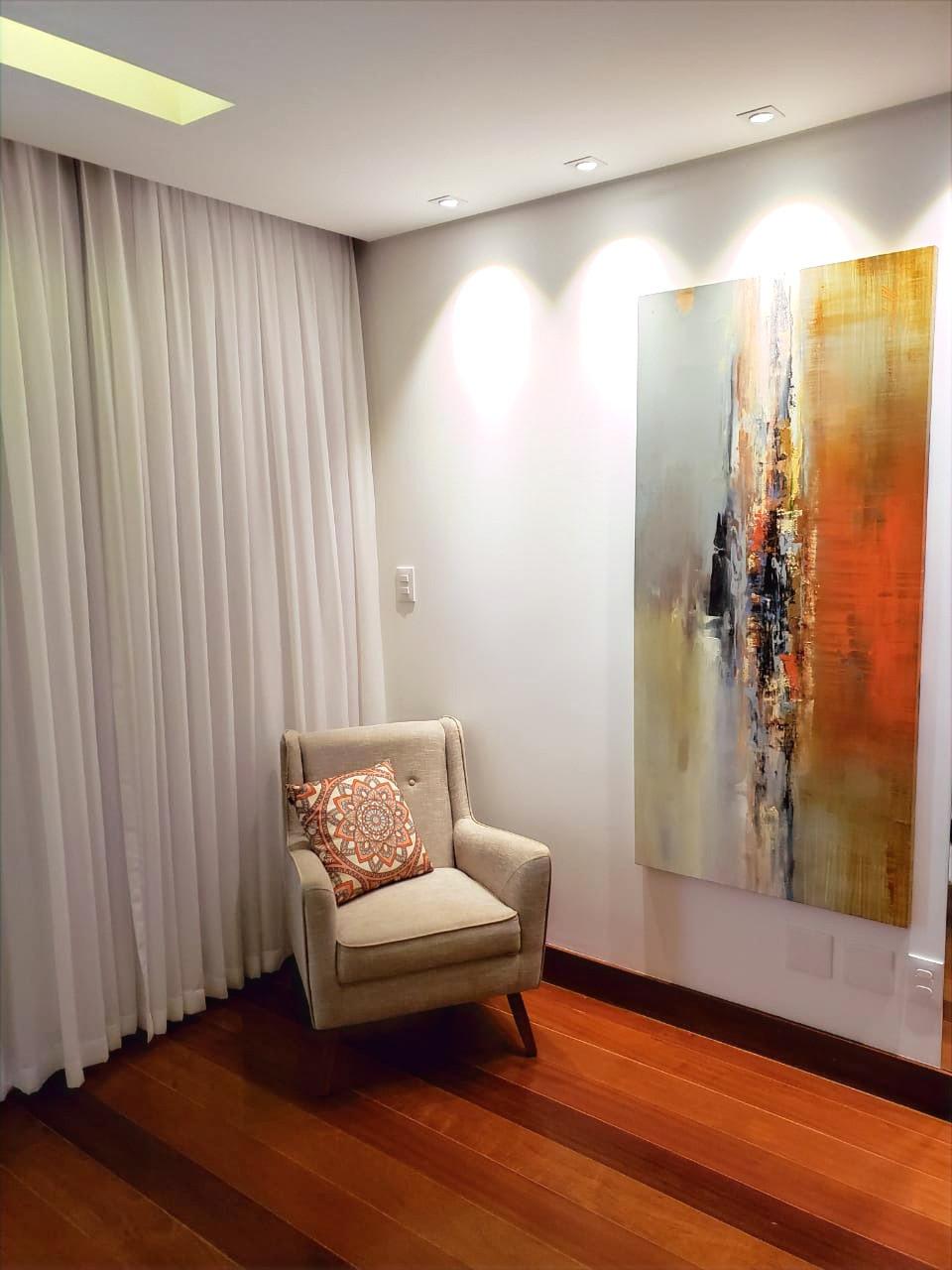 Quadros Abstratos Para Apartamento Chique