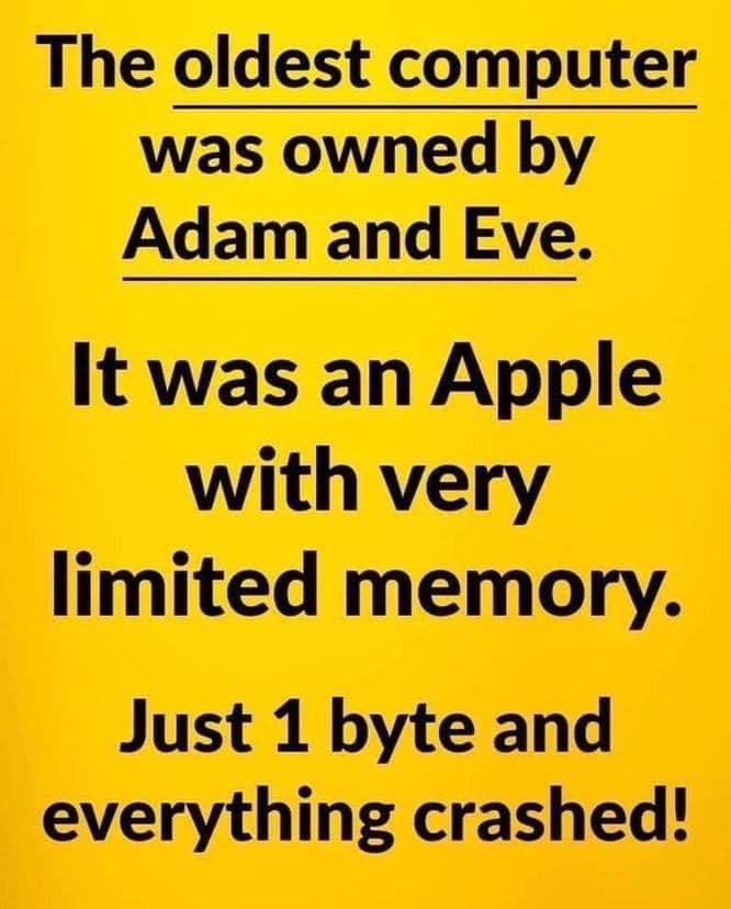 Funny Adam & Eve Memes