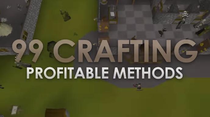 4 Profitable Ways to 99 Crafting (OSRS)