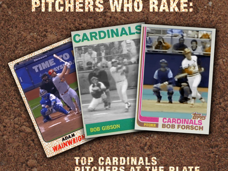 Pitchers Who Rake: Top Cardinals Pitchers at the Plate