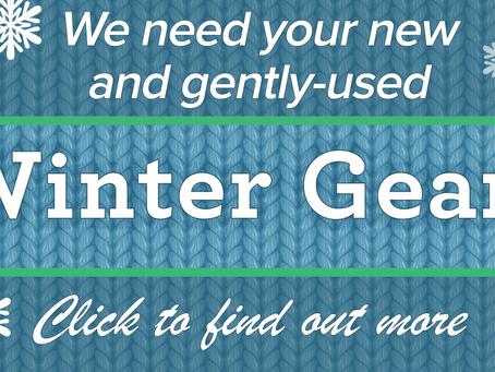 Winter Gear Needed!