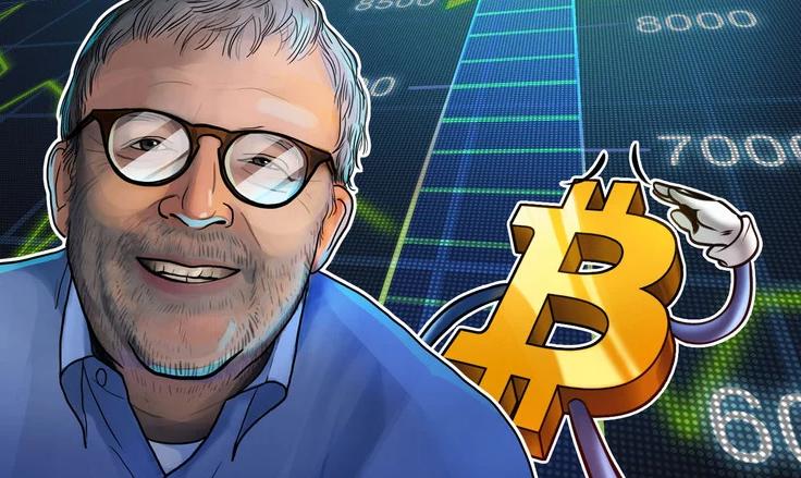 Aseguró que el máximo de Bitcoin eran USD 20 mil, ahora afirma que ese valor es el soporte inferior