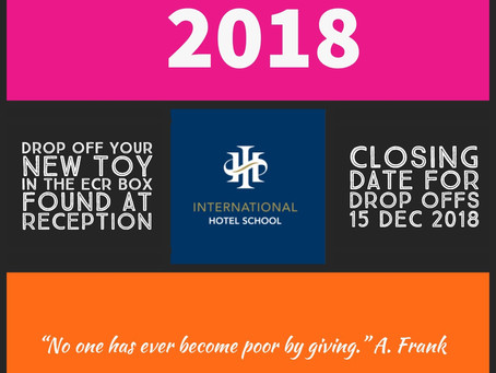 IHS DBN supports East Coast Radio ToyStory2018